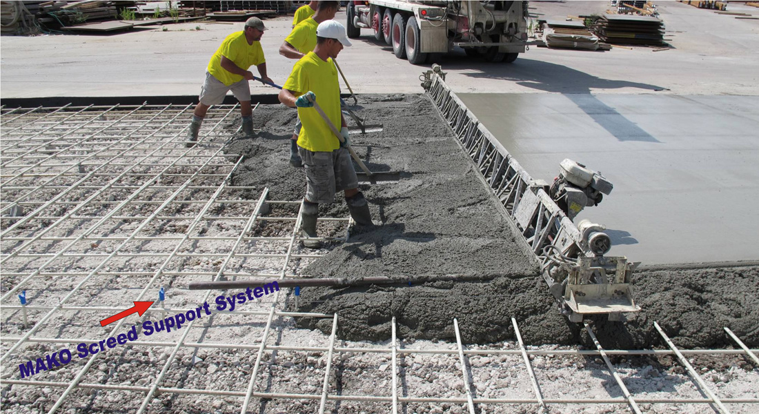 MAKO Screed Support System